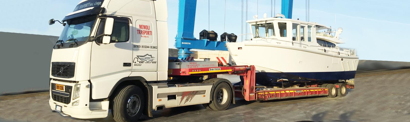 Memoli Trasporti Salerno. I migliori servizi per il trasporto con qualsiasi tipologia di carico, di misura e di peso.